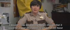 Why did you become a cop?