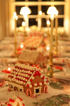 A spectacular Swedish gingerbread house