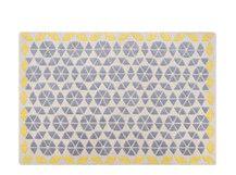 Trio Rug 160 x 230cm, Grey and Mustard