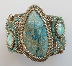 Lovely cuff by Monique DeBoer