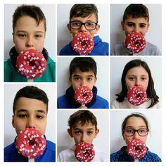 Silencio do Donut rosa Donuts, Children, Frost Donuts, Young Children, Boys, Beignets, Kids, Child, Kids Part