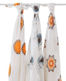 Aden + Anais Bamboo swaddles - These are the softest blankets! I love them for warmer weather!