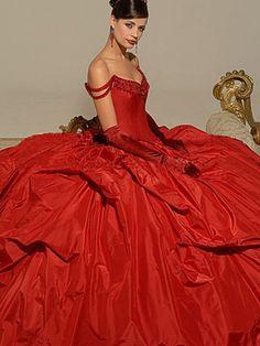 .black tie affair. Stunning in red