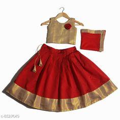 Lehenga Cholis Cute Designer Girls Lehenga Choli Dupatta Set Top Fabric: Satin Lehenga Fabric: Taffeta Silk Dupatta Fabric: Net Sleeve Length: Sleeveless Top Pattern: Zari Woven Lehenga Pattern: Floral Dupatta Pattern: Striped Stitch Type: Stitched Multipack: 3 Sizes:  4-5 Years (Lehenga Waist Size: 26 in Lehenga Length Size: 24 in Duppatta Length Size: 1.6 m)  5-6 Years (Lehenga Waist Size: 29 in Lehenga Length Size: 27 in Duppatta Length Size: 1.65 m)  3-4 Years (Lehenga Waist Size: 26 in Lehenga Length Size: 22 in Duppatta Length Size: 1.5 m)  8-9 Years (Lehenga Waist Size: 32 in Lehenga Length Size: 31 in Duppatta Length Size: 1.8 m)  6-12 Months (Lehenga Waist Size: 22 in Lehenga Length Size: 16 in Duppatta Length Size: 1.5 m)  6-7 Years (Lehenga Waist Size: 29 in Lehenga Length Size: 29 in Duppatta Length Size: 1.7 m)  7-8 Years (Lehenga Waist Size: 31 in Lehenga Length Size: 30 in Duppatta Length Size: 1.75 m)  2-3 Years (Lehenga Waist Size: 25 in Lehenga Length Size: 19 in Duppatta Length Size: 1.5 m)  Country of Origin: India Sizes Available: 6-12 Months, 9-12 Months, 12-18 Months, 18-24 Months, 1-2 Years, 2-3 Years, 3-4 Years, 4-5 Years, 5-6 Years, 6-7 Years, 7-8 Years, 8-9 Years, 9-10 Years, 10-11 Years, 11-12 Years   Catalog Rating: ★4.3 (16924)  Catalog Name: Cute Designer Girls Lehenga Choli Dupatta Set CatalogID_1441571 C61-SC1137 Code: 173-8527649-219