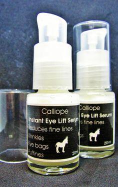 Instant eye lift serum with donkey milk reduses wrinkles, eye-bags, puffines #eye #skincare #wrinkles #eyebags #eyecare #eyeserum #antiaging #glam #etsy #etsyseller #etsyshop #etsyfinds #etsystar