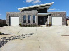 Modern Australian skillion roof design.