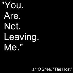 The Host Ian O'Shea. Chills every time...
