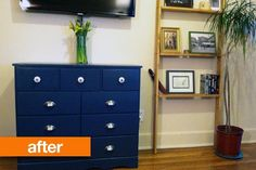 Before & After: Jenny's Dresser-Turned-Media Storage Makeover — January Cure Reader Projects