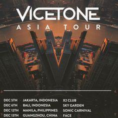 VICETONE ON TOUR