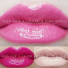 LipSense distributor #228660 @perpetualpucker Kiss for a Cause and Fire Opal combo