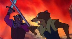 """""""I learned this much: take what you can, when you can."""" - Jenner, The Secret of NIMH (1982)"""