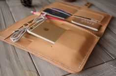 iPad Pro Sleeve MacBook Case iPhone SE Leather Portfolio