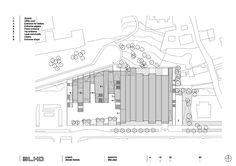Resultado de imagem para Zamet Centre in Rijeka, Croatia Croatia, Centre, Floor Plans, Diagram, Gallery, Pictures, Cases, Art, Plants