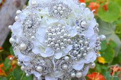 Brooch bouquet idea