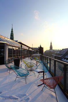Top floor of Illum along Strøget Copenhagen, Denmark