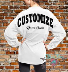 Check out this item in my Etsy shop https://www.etsy.com/listing/245265867/custom-oversized-jersey-you-choose-color