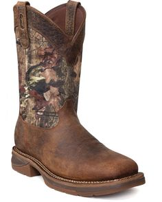 Men's Workin' Rebel Square Toe Boot - Mossy Oak