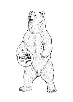 American beaver coloring page Free Printable Coloring