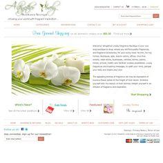 Altogether Lovely Fragrance Boutique : Custom Zen Cart Ecommerce Website Design, Zen Cart Templates, by Picaflor Azul