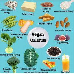 Vegan calcium
