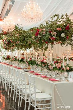 Tree of Love - WedLuxe Magazine Wedding Lunch, Bridesmaid Luncheon, Bridesmaids, Coral Roses, Prom Flowers, Wedding Decorations, Table Decorations, Black Tie Wedding, Stunning Photography
