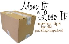 Moving tips for the packing-impaired!