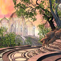 fantasy elven concept deviantart architecture elf places building forest landscape landscapes buildings enchanted artworks elves