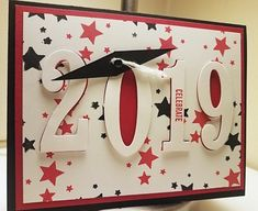 Items similar to 2019 Graduation Cards- You pick the colors! on Etsy - 2019 Graduation Cards You pick the colors - Graduation Cards Handmade, Handmade Birthday Cards, Greeting Cards Handmade, Merry Christmas Card, Fathers Day Cards, Congratulations Card, Up Girl, Creative Cards, I Card