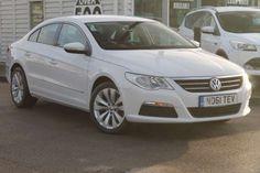 Used 2012 (61 reg) White Volkswagen PASSAT CC 2.0 TDI CR BlueMotion Tech 4dr [5 seat] for sale on RAC Cars