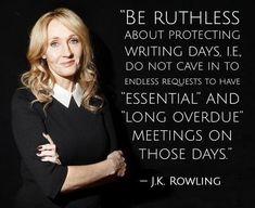J.K. Rowling - Writing