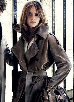 Emma Watson...Burberry