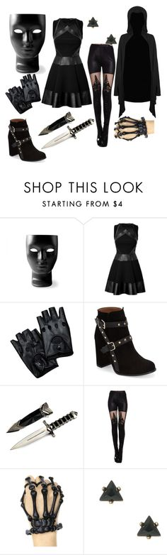"""""""No You Can't See Me Smile"""" by msfightera on Polyvore featuring Driade, David Koma and Topshop"""