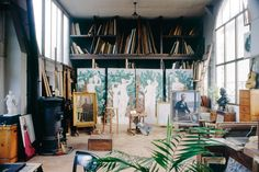 http://public-supply.com/about → Boutet de Monvel studio. Yes, please. #makelines #inthestudio #supportthecreativearts