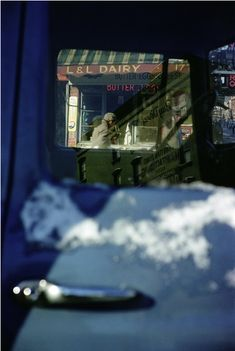 Old New York - kvetchlandia:   Saul Leiter   L&L Dairy, New...