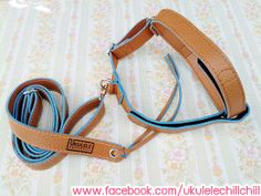 Ukulele Strap Brownish Color : Handmade Design for Ukulele Soprano,Concert,Tenor Size By Ukulele ChillChill (I can ship worldwide) http://www.facebook.com/ukulelechillchill