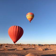 Ballooning in San Pedro de Atacama. Chile