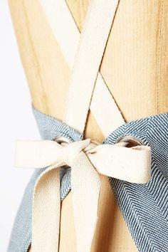 For tie design  Farine Apron