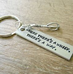 Cooking Key Chain Wheres There A Whisk Theres By Riskybeads Gifts For Baker