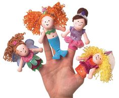 A would LOVE this, she is amazed by finger puppets! :)