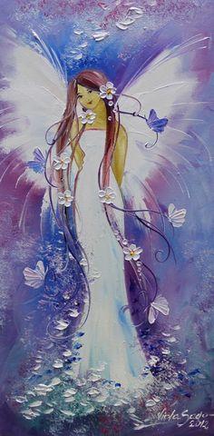 Anjo - Pintura de Viola Sado - Polônia More