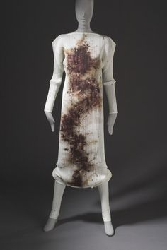 Woman's Jumpsuit  Collection: 'Pleats Please Issey Miyake Guest Artist Series No. 4'  Issey Miyake (Japan, born 1939)  Cai Guo Qiang (China, Fujian, Quanzhou, active United States, New York and China, Shanghai, born 1957)
