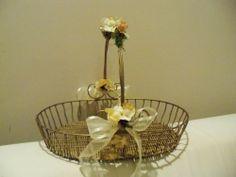 Wedding basket Program Holder