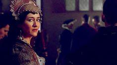 Maria Doyle Kennedy The Tudors | Maria Doyle Kennedy as Katherine of Aragon - the-six-wives-of-henry ...