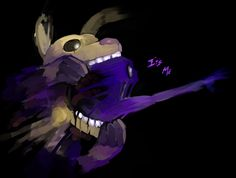 Wow. This art is amazing. The purple guy when he goes into the springtrap and gets stuck and dies