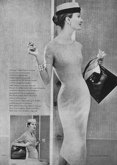 February Vogue 1956 | Vogue S-4676