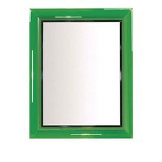 Kartell Francois Ghost Mirror Green By Philippe Starck