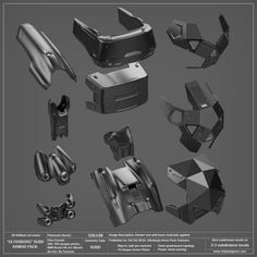"""ULTRABORG"" SUBD Armor Pack — Vitaly Bulgarov"