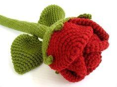 NOT free Crochet Pattern - ROSE FLOWER