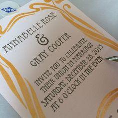 Hand-crafted calligraphy www.denverdesignstudio.com