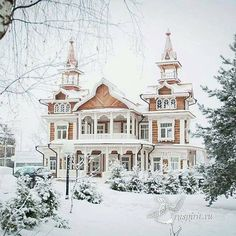 Trendy House Old Victorian Architecture 23 Ideas - - Trendy House Old Victorian Architecture 23 Ideas Cat Houses Trendy House Alte viktorianische Architektur 23 Ideen Wooden Architecture, Victorian Architecture, Beautiful Architecture, Beautiful Buildings, Beautiful Homes, Russian Architecture, Victorian Buildings, Beautiful Castles, House Architecture